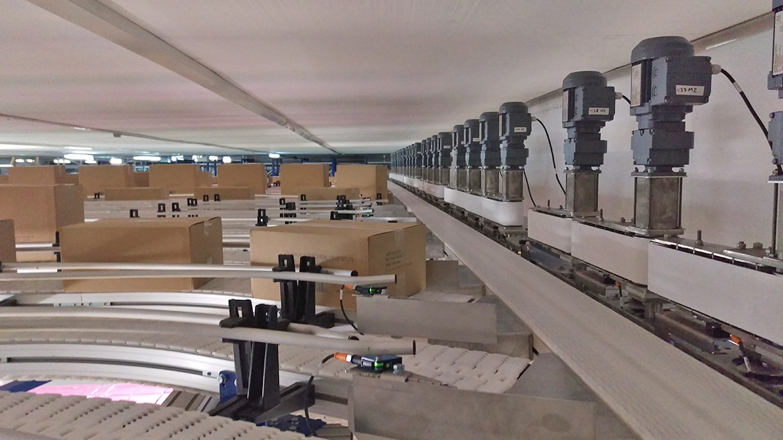 Modulair kettingtransportsysteem Carryline